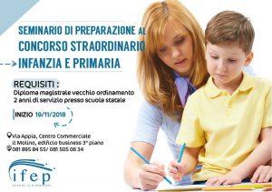 Seminario di preparazione al concorso straordinario infanzia e primaria